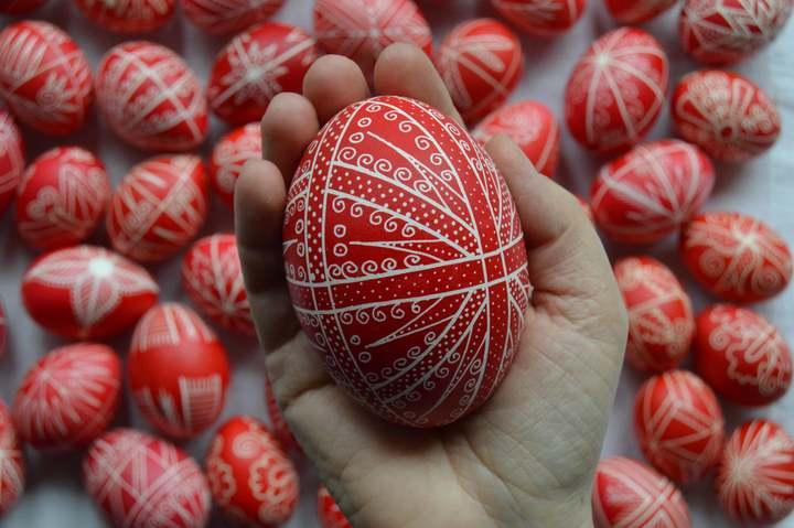 Húsvéti hímes tojás